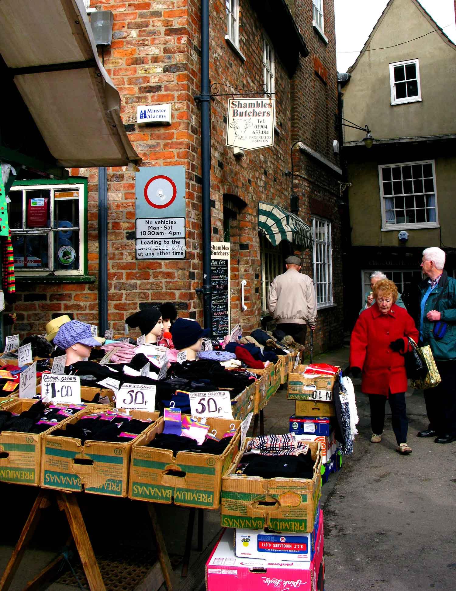 2010 03 23 York Market And Little Shambles