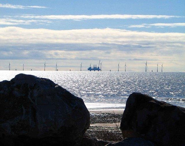 2006 03 06  Barrow  off-shore wind farm.jpg