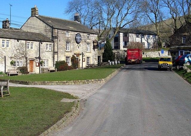 2008 02 19  Malham Lister Arms and Youth Hostel