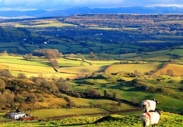 2011 01 11  Ludderburn  Winster valley and Whitbarrow