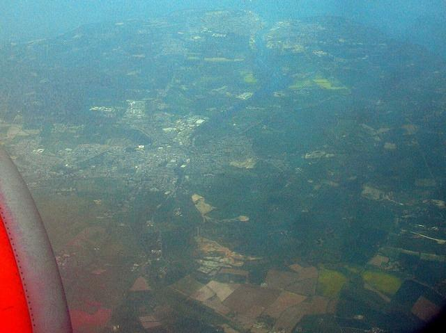 2011 04 19 By air Isle of Wight Cowes