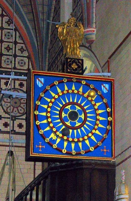 2012 02 22 Ottery St Mary Astronomical clock