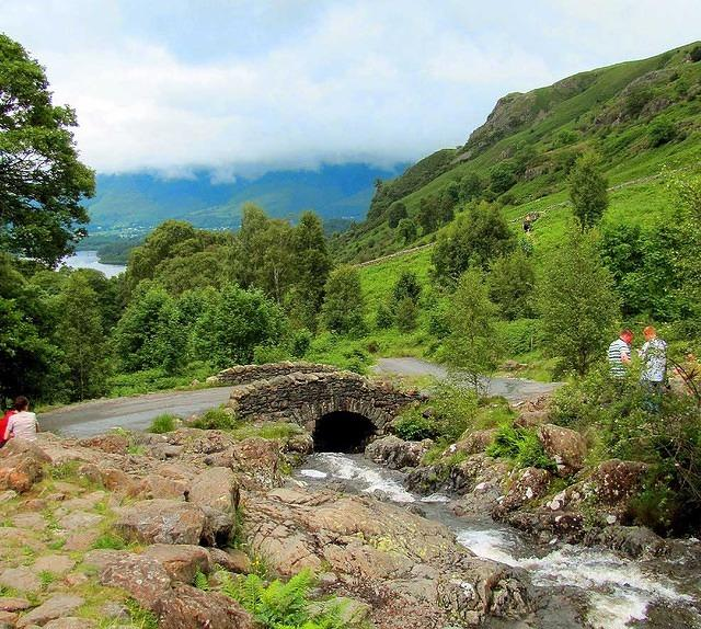 2012 07 04 Ashness bridge down stream