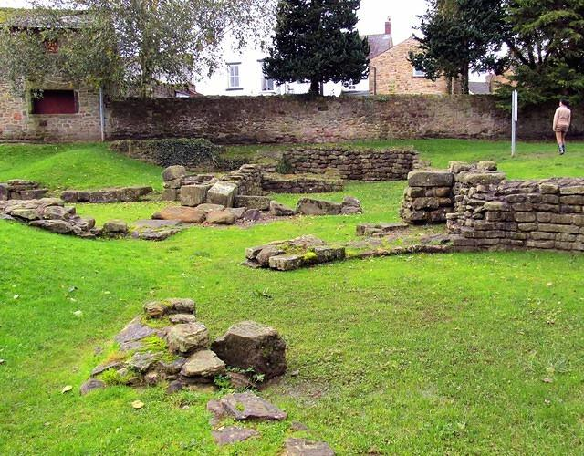2012 10 04 Ribchester The Roman Bath House
