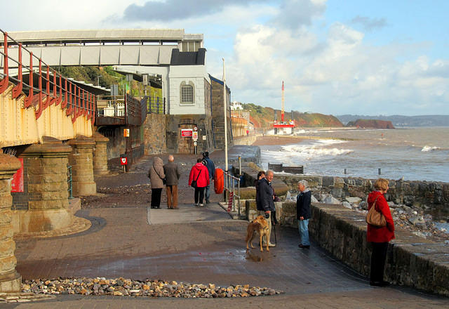 2012 11 12 Dawlish Station - new works