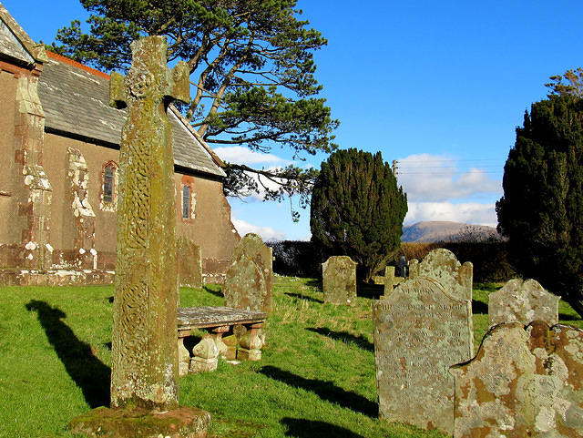 2015 02 14 Irton Church viking cross