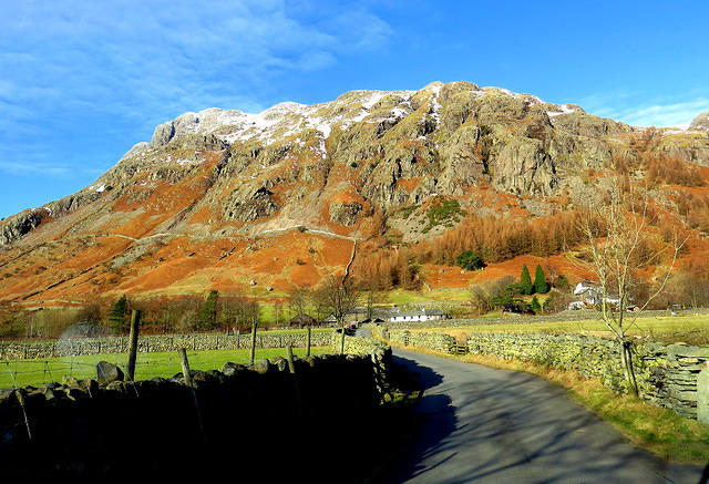 2015 02 04 Langdale Middle Fell Farm