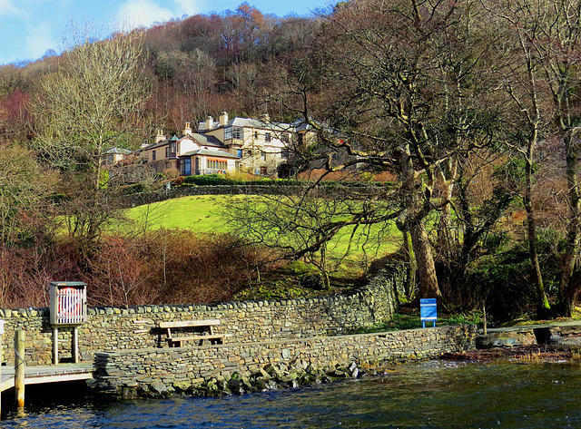 2015 03 10 Brantwood from the quay