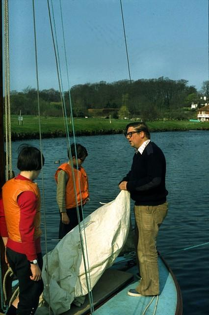1978  DJO'M setting sails with Geraint and Kevin