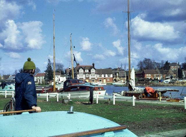 1973 Simon at Horning