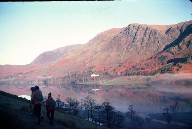 1975 View across Buttermere before climbing High Stile.