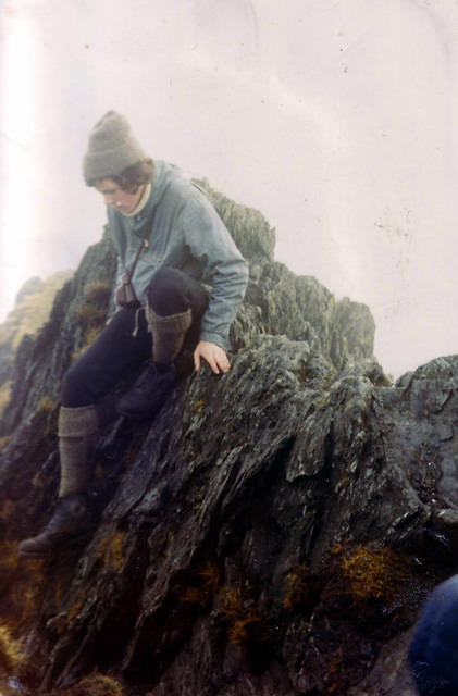 1972  Mike on Halls Fell
