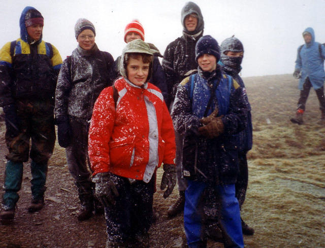 1992  Sudden snow on Dow Crag
