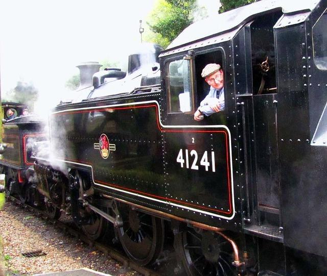 2011 10 08 WVR Haworth LMS 2MT 1949 double heading with Lanky