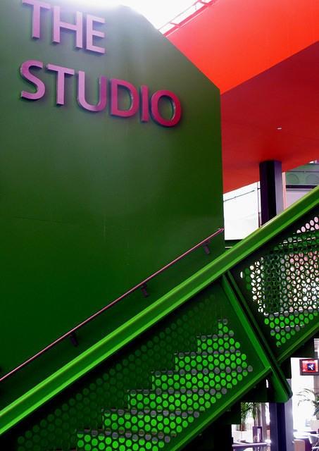 2010 10 05  Salford Quays  Lowry interior The Studio