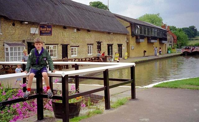 1999 Nick at Stoke Bruerne.JPG