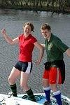 2007 04 02  Latest from Christian on the Norfolk Broads  Charlie & Guy in shorts.jpg