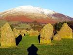 2008 12 06  Castlerigg Stone Circle Shadows and Blencathra