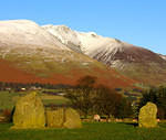 2008 12 06  Castlerigg Stone Circle and Blencathra