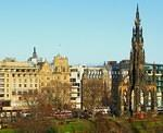 2009 01 17 Edinburgh Princes Street - Scott monument