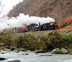 2011 02 24 Welsh Highland Railway  Through the Glaslyn pass 1  FOR MORE see TRAINS album