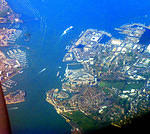 2011 04 19 By air Portsmouth Dockyard