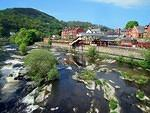2011 04 27 Llangollen Station by the Dee  For More see TRAINS Album