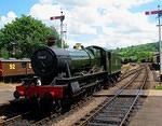 2011 06 08 Hall class Foremarke Hall  For MORE see TRAINS album