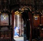 2011 07 13 Carlisle Cathedral Bishop and Dean stalls