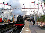 2012 01 21 ELR 45231 Sherwood Forester from Heywood under the Bury signals  For MORE see TRAINS album