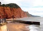 2012 09 26 Sidmouth cliffs and slumps