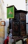2012 10 04 Ribchester St Wilfrid's Church Jacobean pulpit