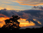 2012 10 29 Sunset over Haverthwaite 3