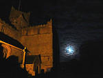 2012 10 29 Moonlight and Cartmel Priory
