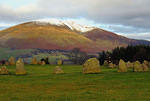 2012 11 29 Castlerigg Circle and Blencathra