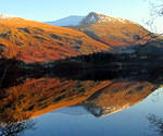 2012 12 11 Thirlmere and Helvellyn reflected 2