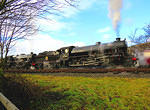 2014 01 19 Rawtenstall B1 framed  For MORE see TRAINS album