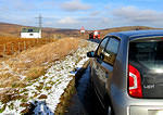 2014 02 10 Shap A6 summit and lorry