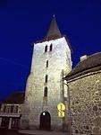 2014 03 31 Riom-es-Montagnes church at night