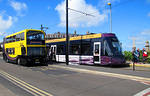 2014 08 09 Fleetwood New livery for bus and tram