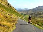 2014 09 04 Wrynose Little Langdale cyclist