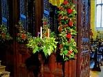 2014 12 22 Priory flowers Advent wreath