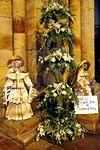 2014 12 22 Priory flowers Angels