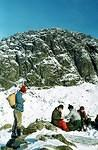 1981   Mike leans towards Pavey Ark