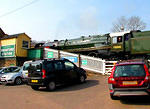 2012 03 22 West Somerset steam gala Washford Station and Britannia