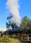 2012 10 13 Worth Valley Railway Ivatt 4MT 'The flying pig' in steam