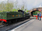 2013 04 24 Bishops Lydeard GWR 9351 with 2004 tender