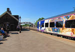 2013 06 19 Appleby Northern rail arrival