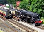 2014 07 17 Goathland Black Fives exchanging tokens