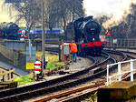 2015 02 08 WVR Keighley Midland 4F discussion